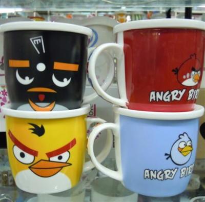 批-愤怒的小鸟陶瓷杯/茶杯/水杯子/促销礼品杯/马克杯/咖啡杯