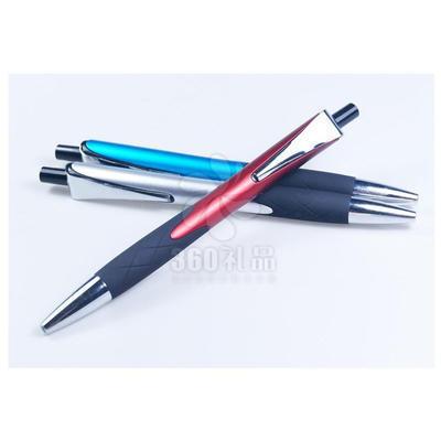 厂家直销新款创意笔 金属笔夹按动广告圆珠笔定制logo