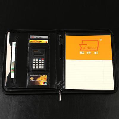 厂家直销创意多功能文件夹办公用品文件夹定制夹板经理夹定做logo