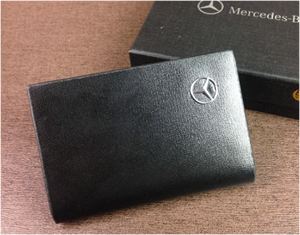 进口牛皮 名片夹 最爆款卡包 可以定制logo  礼促销品