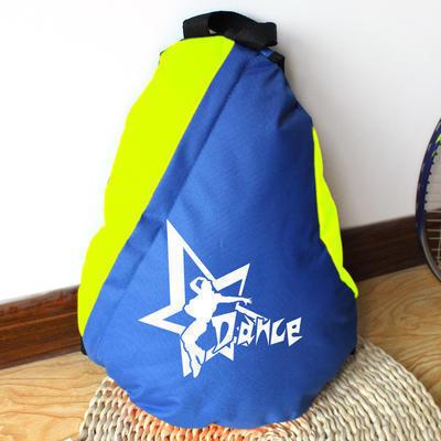 厂家定制批发舞蹈培训单双肩书包 小学生幼儿园辅导班学生书包可印字