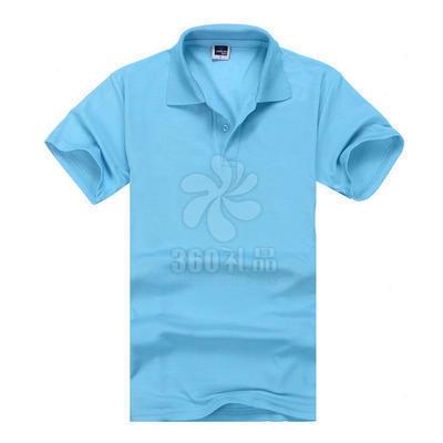 厂家定做广告衫 环保棉翻领短袖广告衫批发 纯色涤棉宣传活动T恤 可印制logo