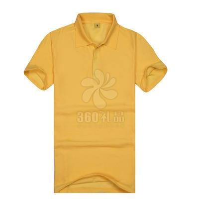直销定制TC翻领短袖定做广告衫批发 工装涤棉宣传团体活动T恤 可印制LOGO