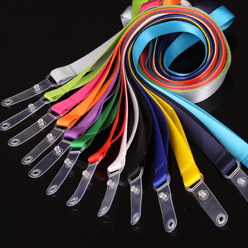 厂家直销定做胸卡胸牌套吊绳员工展会工作证件挂绳定做工牌厂牌套