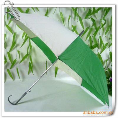 供应大西瓜伞 直杆伞长柄伞 广告伞定制 绿白 晴雨伞 太阳伞 印字