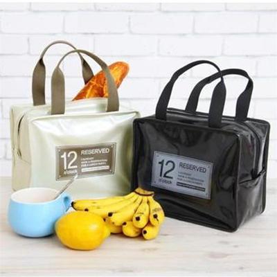 保温包野餐包 午餐包饭盒包 PU便当包 多功能旅行包冰包LOGO定制