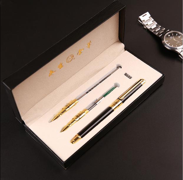 永生钢笔 学生用签字墨水礼盒装练字钢笔永生1132定制刻字套装