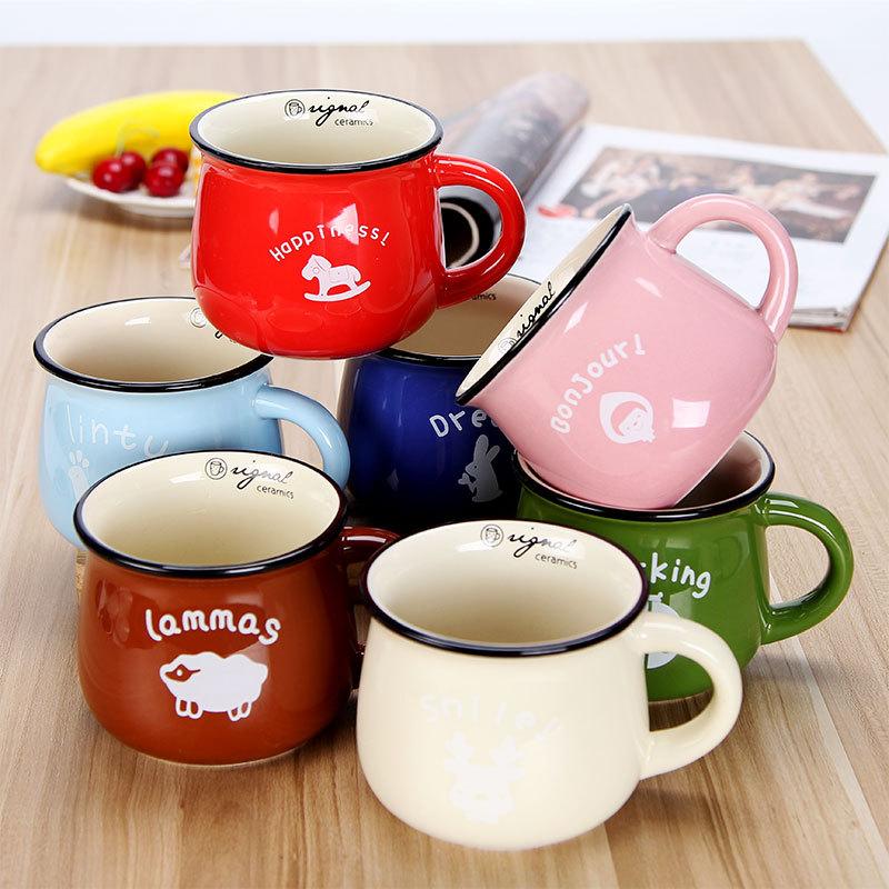 复古创意陶瓷杯大肚杯子 牛奶早餐杯咖啡杯 色釉马克杯logo365bet娱乐场888_365bet投注app_365bet体育在线15