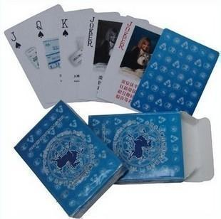 300克中华白芯  扑克牌厂 广告扑克牌定做 扑克牌印刷 质优价廉