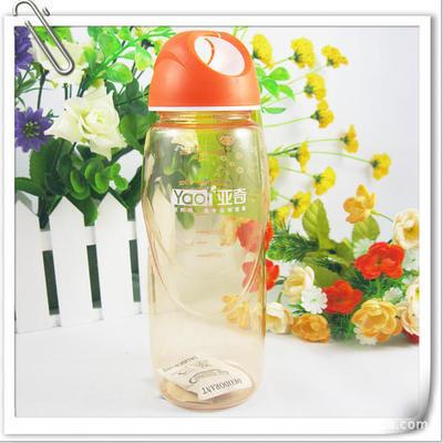 直销定制儿童水壶广告杯 纯色小学生塑料手提水杯子 可印字 500ML