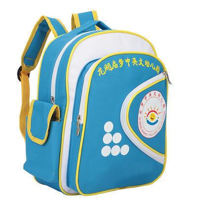 幼儿园儿童书包 双肩书包定做学生书包 广告赠礼品印字定制logo