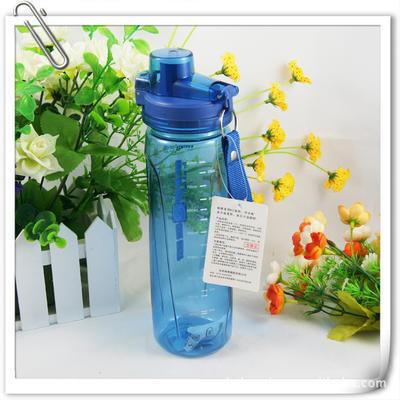 直销定做广告太空杯 大容量运动水壶 带滤网茶水杯子 印字800ML