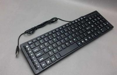 中性 外贸键盘 超薄巧克力新款 苹果键盘 苹果有线键盘 单键盘