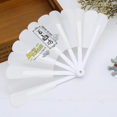 新品上市 我厂专业定制小扇子 异形广告扇 PP卡通儿童创意宣传扇