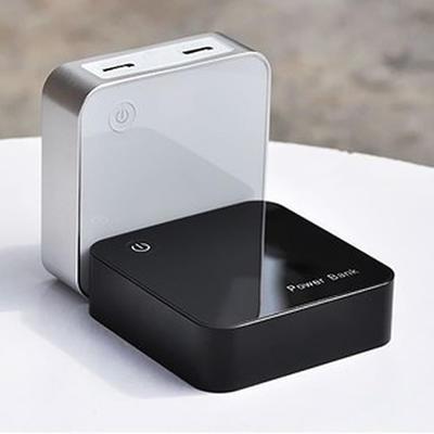 批发 power bank小魔方移动电源 液晶数显8000毫安 通用型充电宝