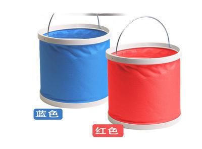 方便 环保 耐磨 专业促销礼品 9L防水折叠水桶 户外汽车用品