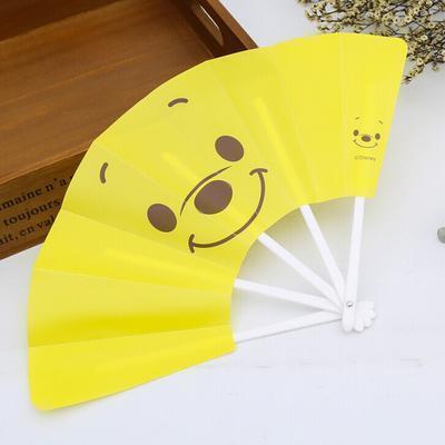 直销 儿童清凉扇子 动漫卡通折扇 创意居家女士定制五折扇