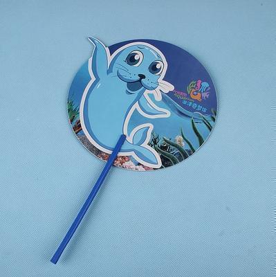 促销扇PP广告扇定做塑料公司广告扇子定制筷子扇500把起