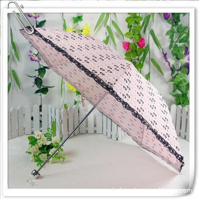 鑫叶8片4折广告伞 销售订制礼品伞 防紫外线太阳伞 折叠雨伞 印字