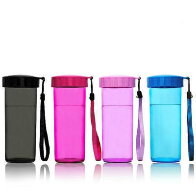 直销定制500ml AS随手杯 带盖便携创意茶杯防漏运动杯 可印LOGO