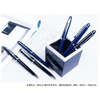 厂家直销文具用品 银行定制广告笔 简易按动塑料圆珠笔