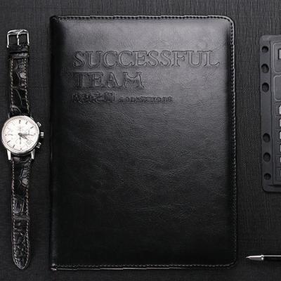 厂家pu皮革笔记本本子商务笔记本定制成功之师记事本定做日记本