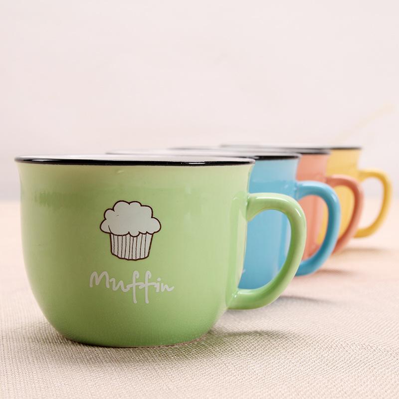新款厂家定制陶瓷杯创意马克杯咖啡杯个性礼品杯广告杯日式早餐杯