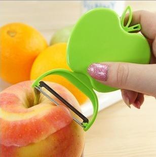 厂家创意 水果刨 可折叠苹果型削皮器 水果削皮器批发可印logo