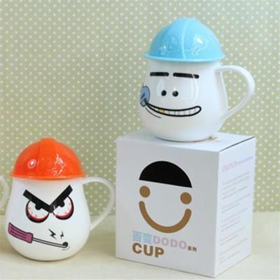 批-新款工人杯/礼品杯/办公杯/陶瓷杯/新骨瓷马克杯/茶水杯子