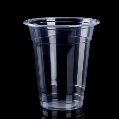 厂家批发直销360ml一次性塑料杯、PP塑料杯、乳品饮料杯5万只起订