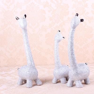 陶瓷结婚礼物摆件送朋友礼品摆设家居装饰三只小鹿厂家批发