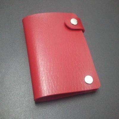 银行卡包 防皮 皮革 可印广告 定制 10个卡位 卡套 身份证卡包