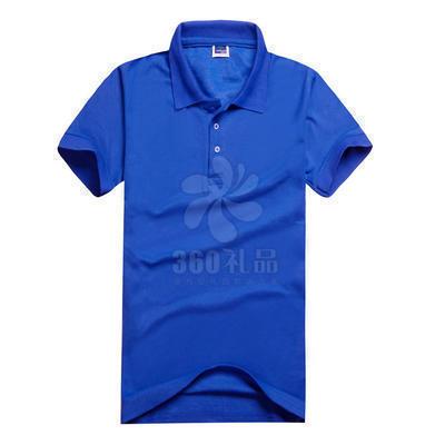 厂家定做广告衫批发 TC220带螺口翻领短袖广告衫定做 工作服校服学生宣传活动印字