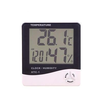 定制 大屏幕电子温湿度计 数字闹钟 定时闹钟功能 定制logo