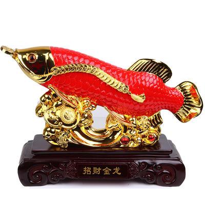 精品金龙鱼创意工艺品 招财摆件装饰品