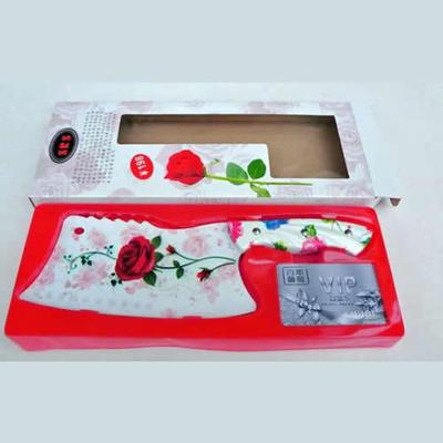 厨房刀具用品套装 不锈钢刀具套装 玫瑰花式套刀
