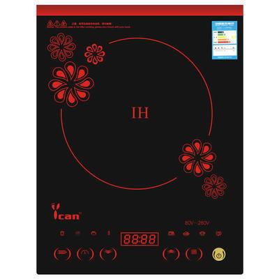 多功能电磁炉防水进口面板 厂家直销批发定制电磁炉 可以印制logo