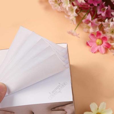 纸砖便签本定做 广告便利贴 便签纸订制 N次贴房卡贴定制印刷LOGO