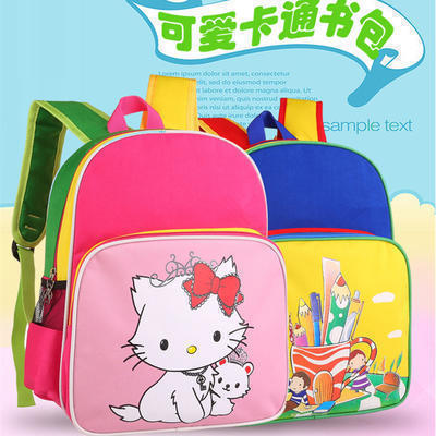 厂家直销广告儿童拉杆书包 小学生书包男女童双肩书包定制LOGO