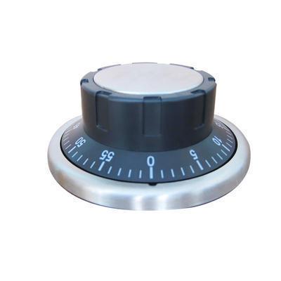 定制 不锈钢提醒器 圆盘厨房小闹钟定制logo 时尚个性定时器