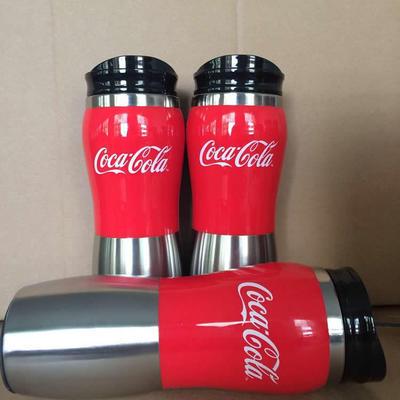 450ml花生杯半身不锈钢保温杯 促销广告礼品杯 外塑内钢 可印logo