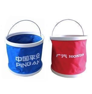 多功能便携式折叠水桶 钓鱼桶车载水桶 9L 11L 13L彩盒装 车载桶