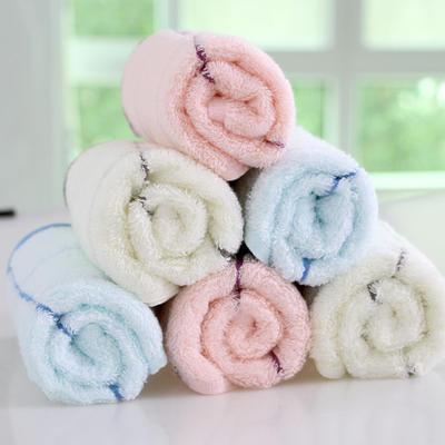 供应莫代尔毛巾 面巾  格子美容抑菌 毛巾 批发