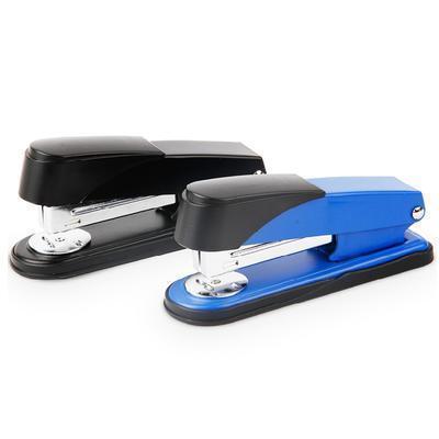 商务办公用品 deli0320正品加厚型订书机12号针定制LOGO
