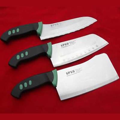 厨房刀具用品套装 不锈钢刀具套装 炮单钢三件套