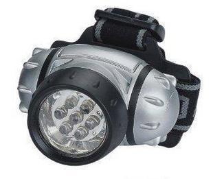 7LED强光头灯户外旅游探险矿灯野营灯帽子灯可定制LOGO