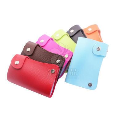 卡包批发 旋转促销卡包 创意礼品 促销礼品 时尚高端
