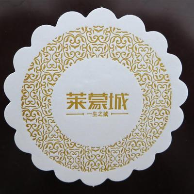 生产批发 吸水纸杯垫 创意吸水杯垫 客户要求定制