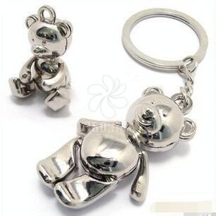 厂家直销小熊钥匙扣 泰迪熊暴力熊小礼品情人节礼物现货批