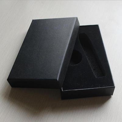 厂家直销小饰品礼盒 天地盖嵌入式礼品包装盒 可定制印刷logo